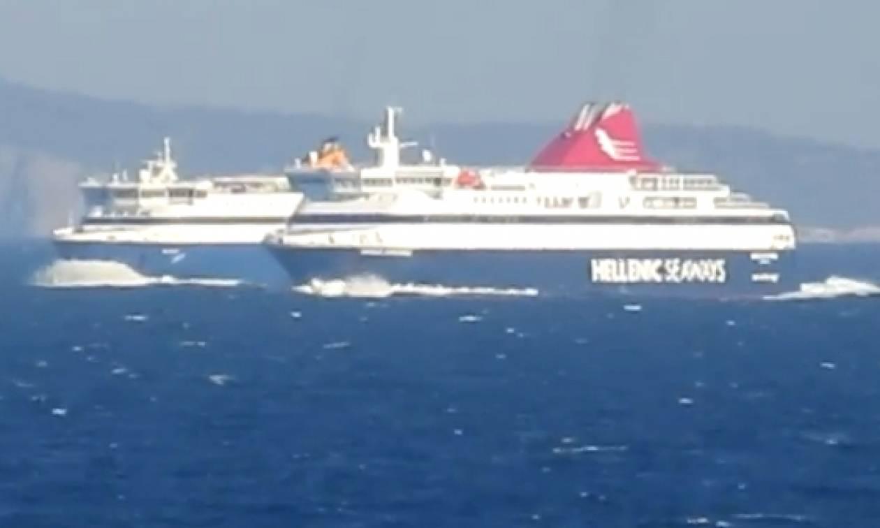 Head to head! Η συνάντηση του Blue Star Naxos με το Nissos Mykonos (video)