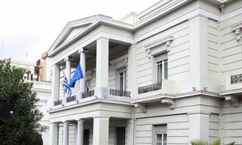 Στήριξη του ΥΠΕΞ στην εθνική χάντμπολ για την προκλητικότητα των Σκοπιανών