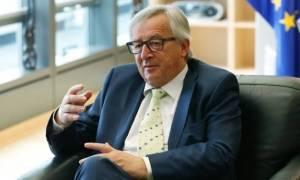 Γιούνκερ: Η Κομισιόν διασφάλισε την παραμονή της Ελλάδας στην ευρωζώνη το 2015