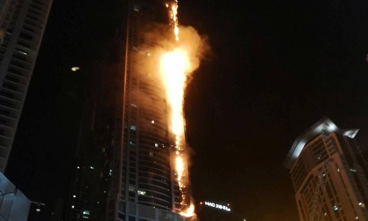 Ντουμπάι: Στις φλόγες ο ουρανοξύστης Torch Tower – Συγκλονίζουν τα βίντεο της μαινόμενης πυρκαγιάς