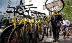Μέτρα για τη σωστή χρήση των δικτύων μίσθωσης ποδηλάτων στη Κίνα
