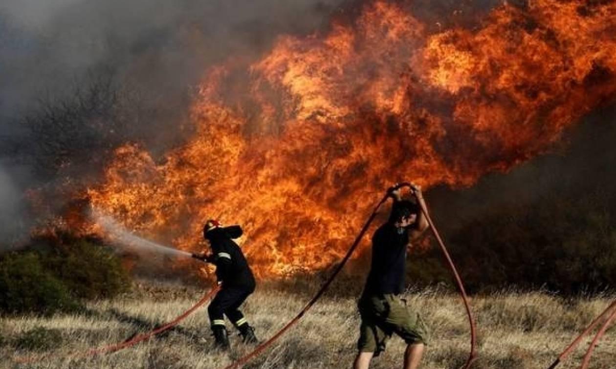 Εξιτήριο πήραν οι τρεις πυροσβέστες που τραυματίστηκαν στην Ανάβυσσο