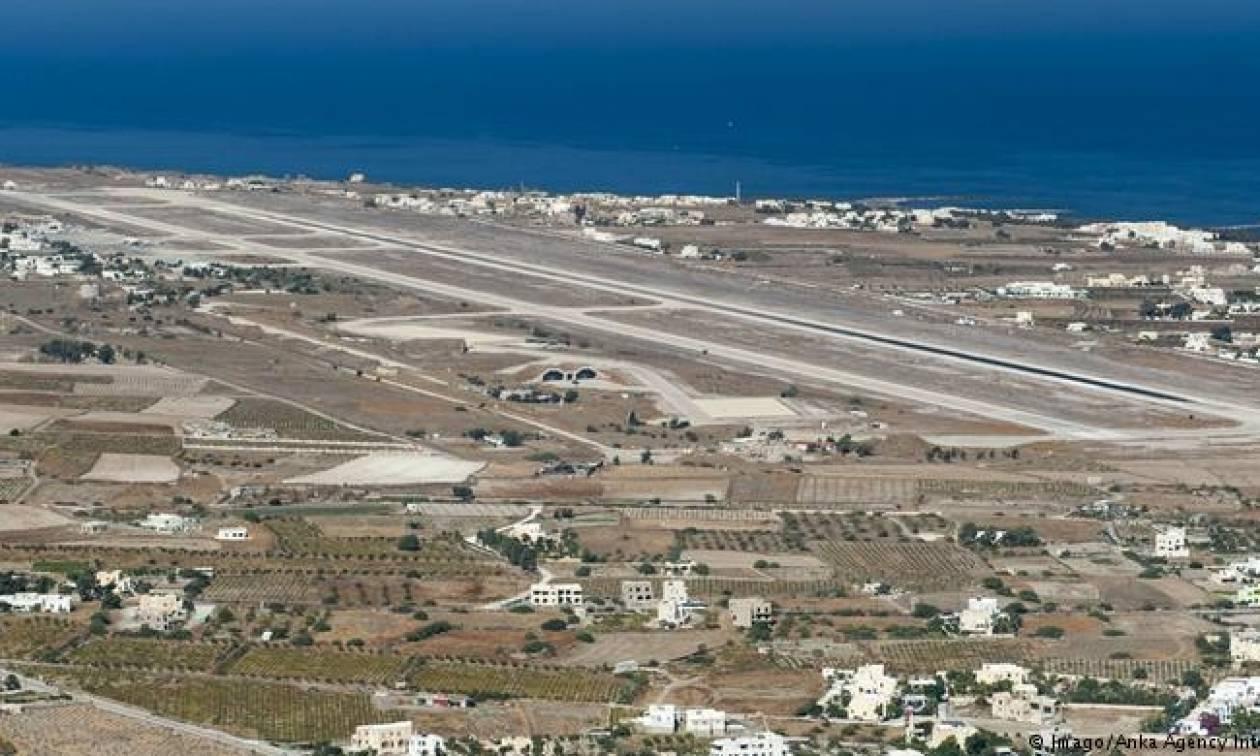 Τουρίστες σε σύγχυση: Νομίζαν ότι η Σαντορίνη είναι το αεροδρόμιο της Σκιάθου...
