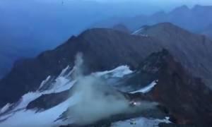 Συγκλονιστικό βίντεο: Ελικόπτερο διάσωσης συντρίβεται στις Άλπεις και σώζονται από θαύμα!