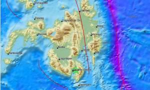 Ισχυρός σεισμός 5,8 Ρίχτερ συγκλόνισε τις Φιλιππίνες