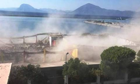Man killed in roof collapse in Patras' old port was Algerian