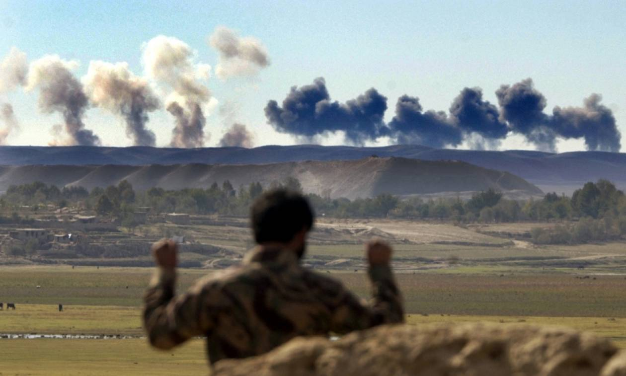 Αφγανιστάν: Νεκροί τουλάχιστον 50 Ταλιμπάν σε αεροπορική επιδρομή