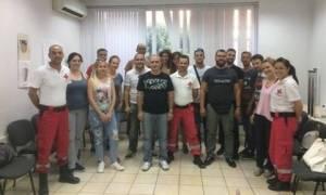 Ο Ερυθρός Σταυρός εκπαιδεύει την ΕΛ.ΑΣ στις Πρώτες Βοήθειες
