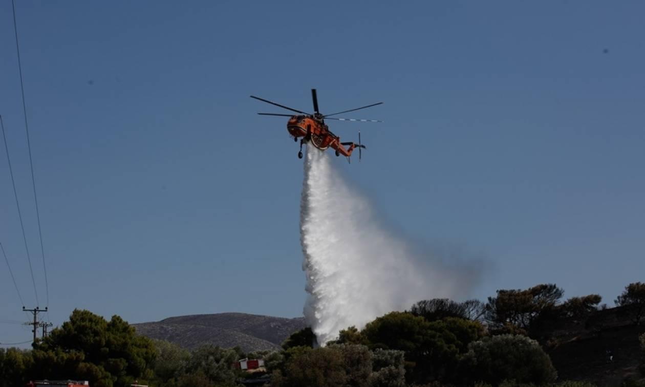 Υπό έλεγχο οι πυρκαγιές σε Υάμεια Μεσσηνίας και Βρουβιανά Αιτωλοακαρνανίας