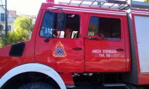 Πυρκαγιά σε εργοστάσιο στα Μέγαρα