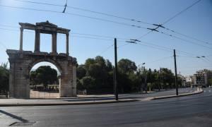 Οι δρόμοι της Αθήνας τον Αύγουστο (pics)