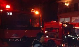 Φωτιά: Στις φλόγες διαμέρισμα στου Ζωγράφου