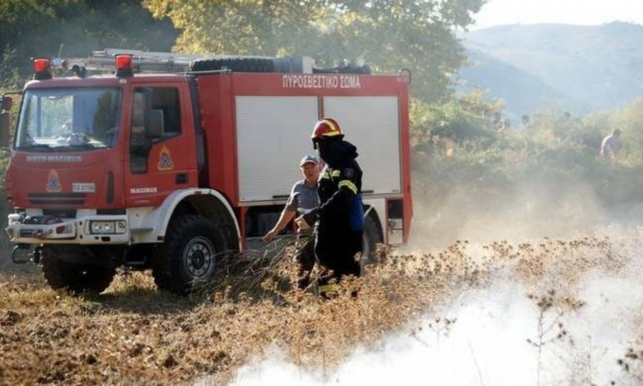 Ο χάρτης πρόβλεψης κινδύνου πυρκαγιάς για τη Δευτέρα 7/8 (pic)