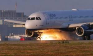 Μάγκας πιλότος προσγειώνει το αεροπλάνο με τις ρόδες ανάποδα και σώζει 166 επιβάτες! (video)