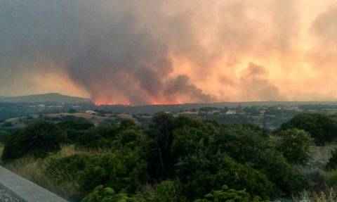Wildfire mostly contained in Kythera, official says