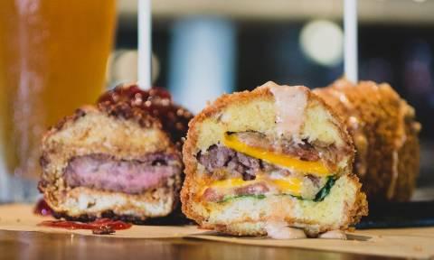 Τα τηγανητά μπέργκερ είναι η νέα τρέλα στην Αμερική