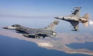Φωτιά στο Αιγαίο: Δύο εικονικές αερομαχίες ελληνικών - τουρκικών μαχητικών και 37 παραβιάσεις