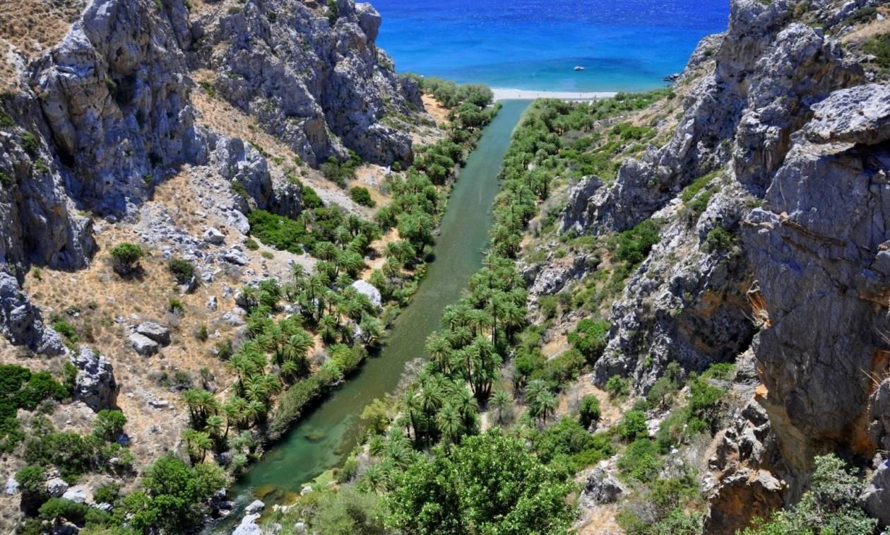 Τουρίστες ανακάλυψαν βόμβα σε φαράγγι της Κρήτης (pics)