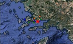 Σεισμός κοντά στην Κω