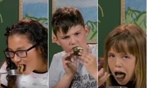 Τι συμβαίνει όταν τα παιδιά από την Αμερική τρώνε για πρώτη φορά ντολμάδες, φακές και παπουτσάκια;