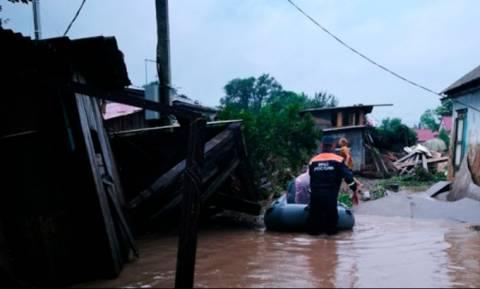 Более шести тысяч человек остаются без энергоснабжения в результате паводка в Приморье