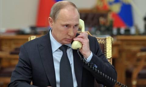 """Путин заслушал доклады об операции на шахте """"Мир"""" и борьбе с паводком на Дальнем Востоке"""