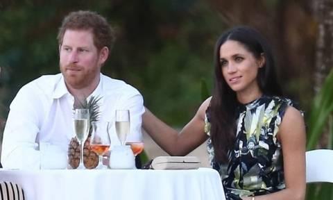Το τρυφερό ενσταντανέ του πρίγκιπα Harry και της Meghan Markle