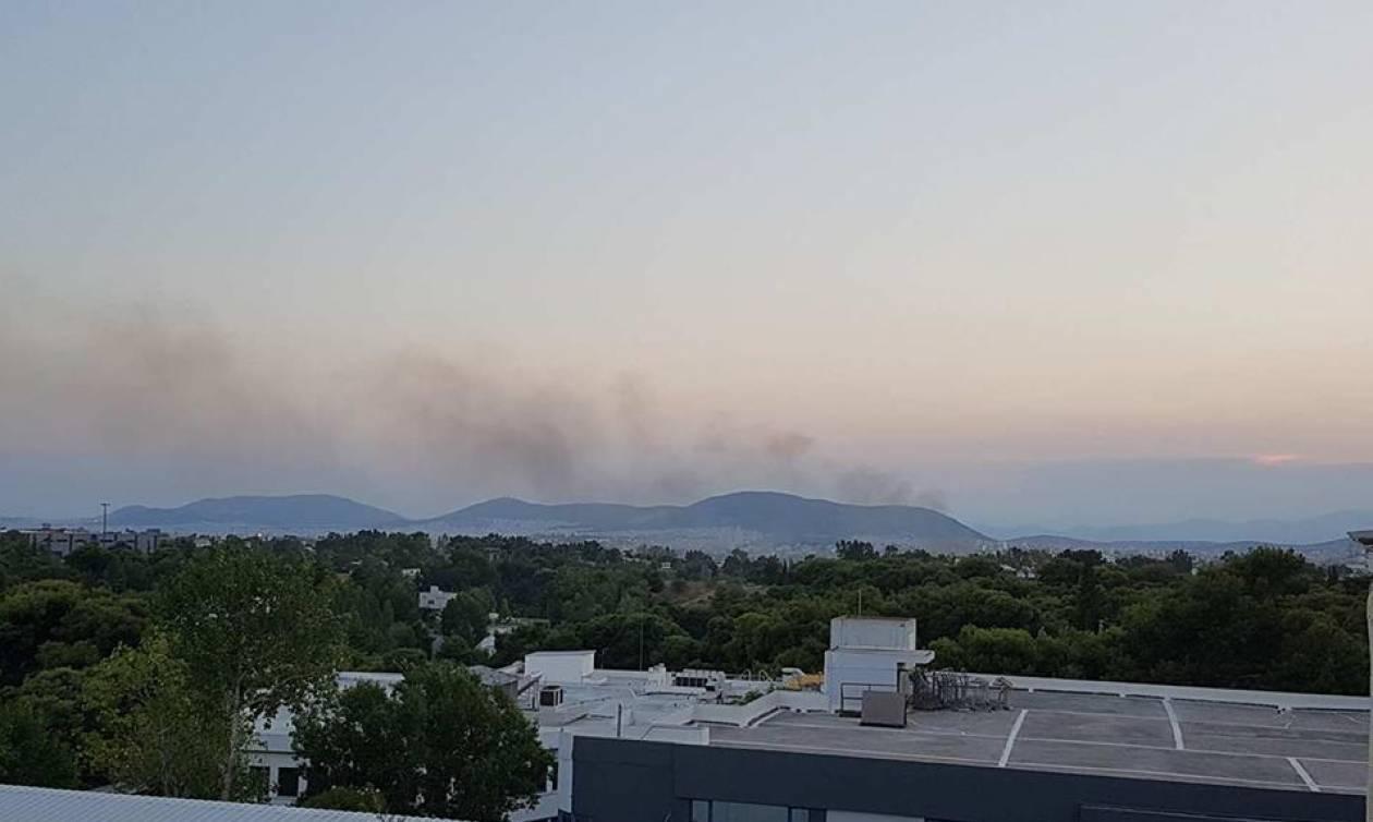 Φωτιά Τώρα: Πυρκαγιά σε εξέλιξη στην περιοχή των Αχαρνών