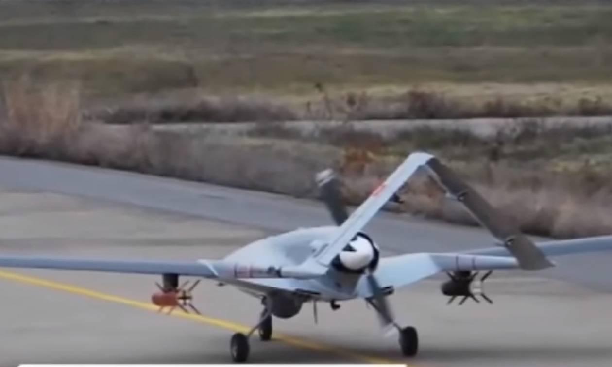 Αγριεύουν τα πράγματα στο Αιγαίο: Οι Τούρκοι δοκιμάζουν οπλισμένο drone (vid)