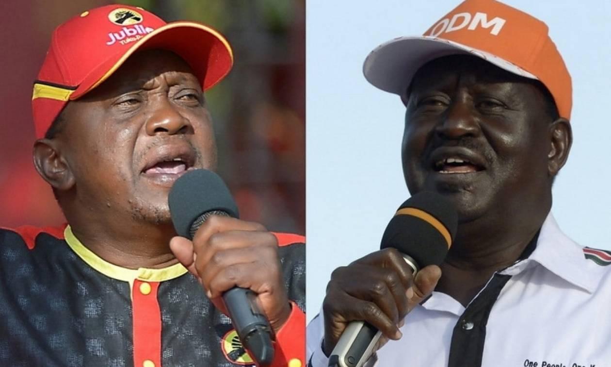 Πολιτική κρίση στην Κένυα: Ο ηγέτης της αντιπολίτευσης απορρίπτει τα πρώτα αποτελέσματα των εκλογών