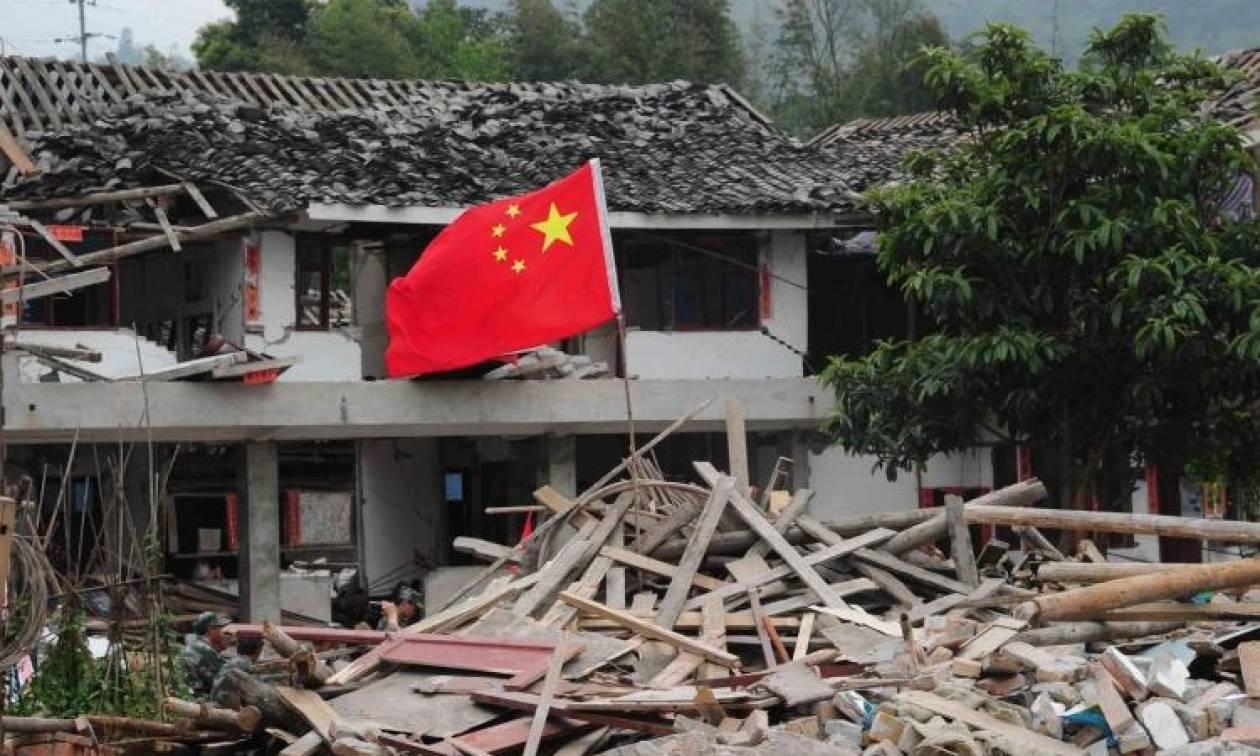 Κίνα: Εννέα νεκροί και 164 τραυματίες από τον ισχυρό σεισμό