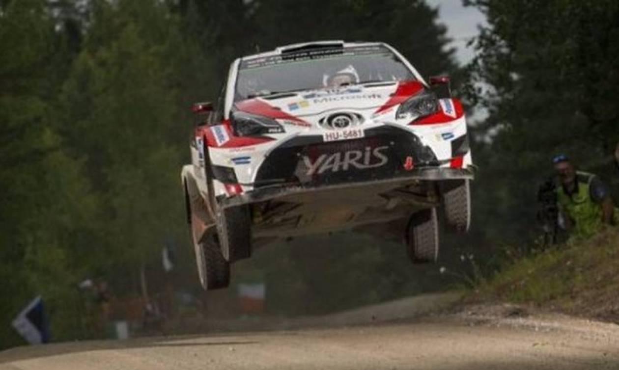 Πόσο μακριά πηδούν τα αγωνιστικά του WRC στο Ράλι της Φινλανδίας; (video)