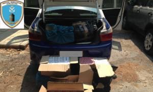Θεσσαλονίκη: Προσπάθησαν να μεταφέρουν χιλιάδες πακέτα λαθραίων τσιγάρων ...με ταξί!