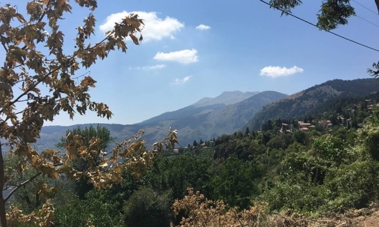Η... απόδραση γνωστού δημοσιογράφου στον παράδεισο της Ορεινής Κορινθίας! (pics)
