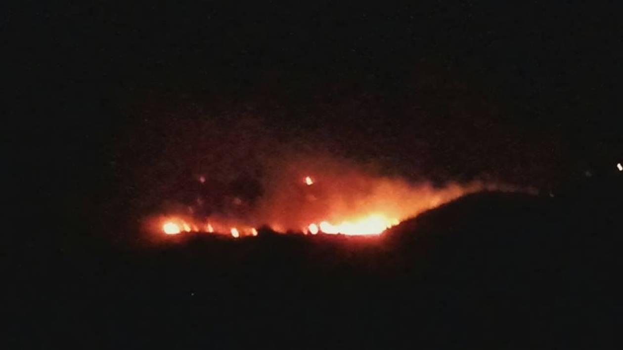 Φωτιά Τώρα: Μαίνεται πυρκαγιά στην Τζια (pics)