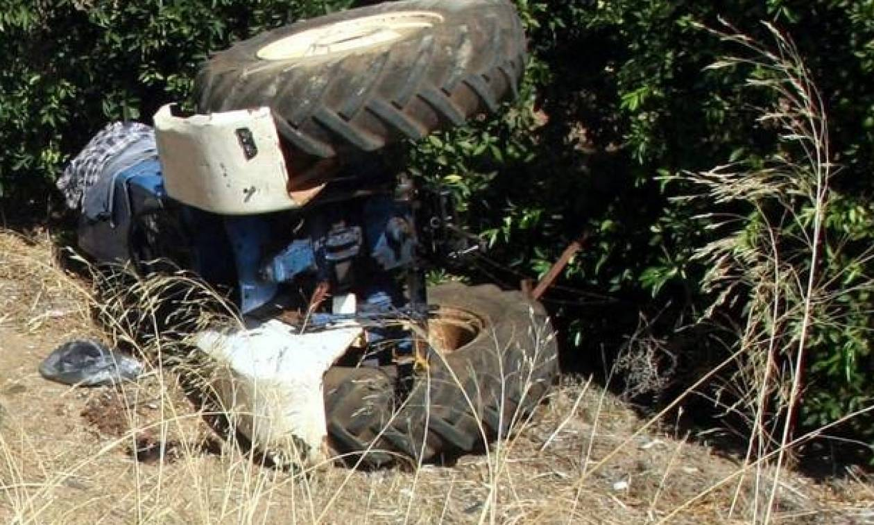 Τραγικός θάνατος αγρότη στην Κρήτη – Καταπλακώθηκε από το τρακτέρ
