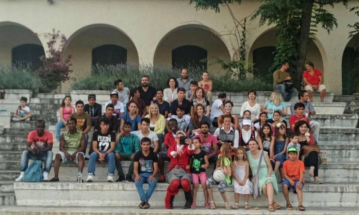 Ο Ελληνικός Ερυθρός Σταυρός δίνει στέγη σε ασυνόδευτα παιδιά