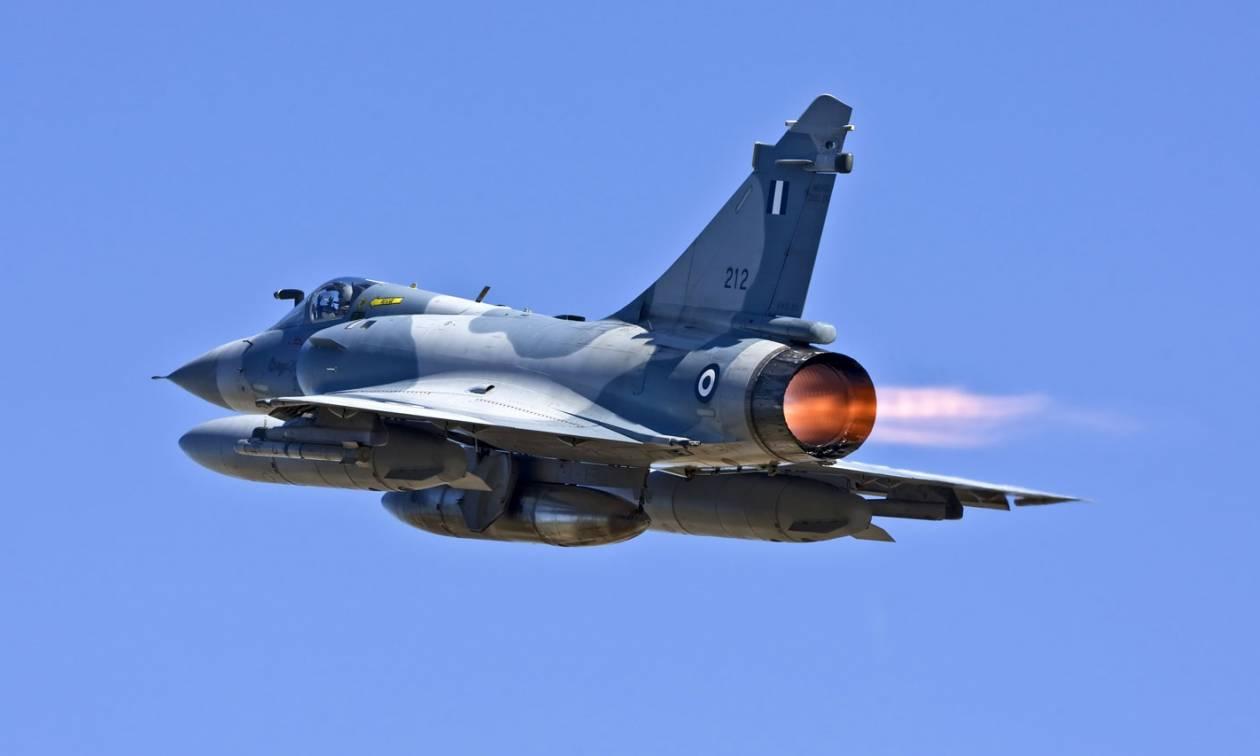 Συναγερμός στην Πολεμική Αεροπορία: Οπλισμένα τουρκικά μαχητικά στο Αιγαίο