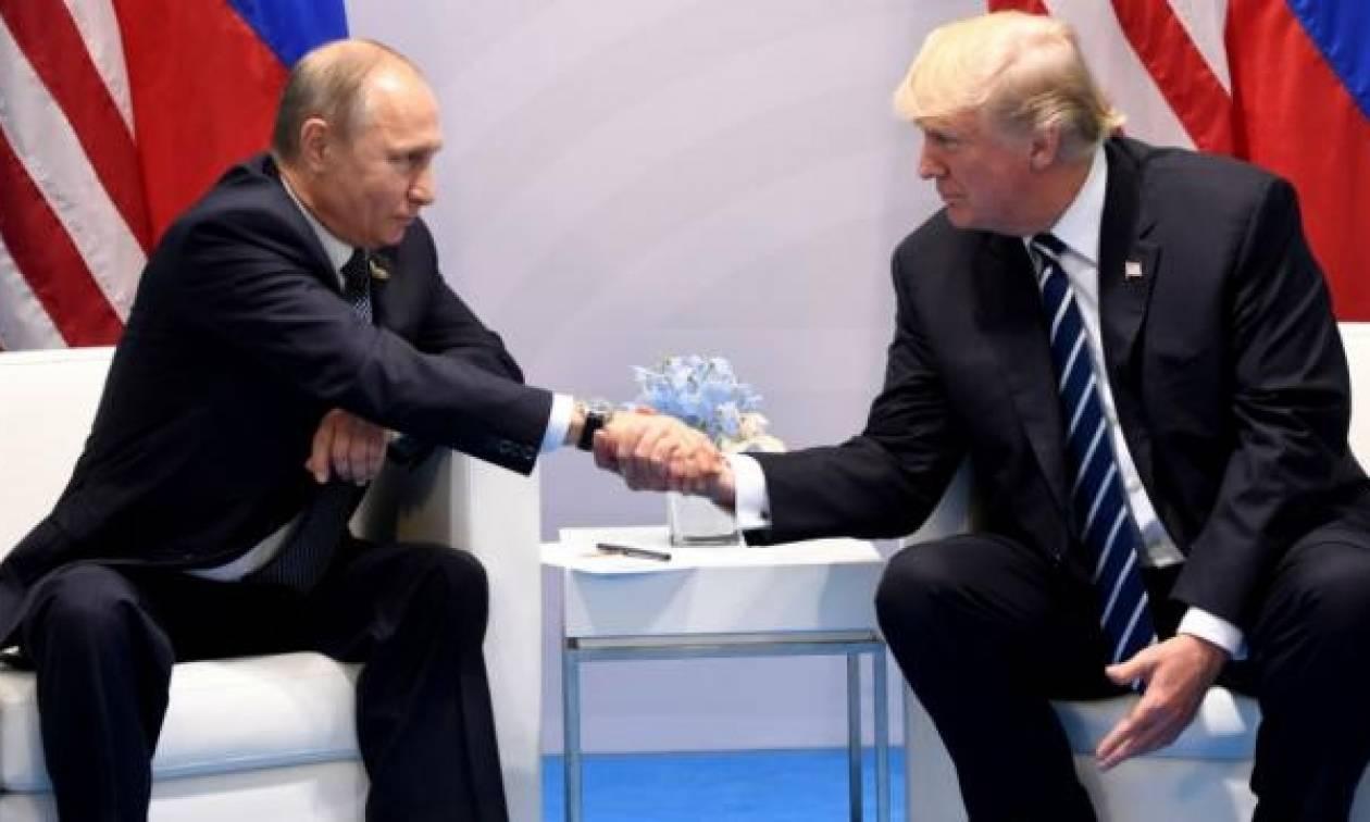 Ο Τραμπ ευχαρίστησε δημόσια τον Πούτιν για τις… κυρώσεις κατά των ΗΠΑ! (video)