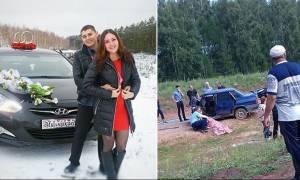 Συγκλονιστικό: 23χρονη σκοτώθηκε σε τροχαίο πηγαίνοντας στην εκκλησία να παντρευτεί (photos)
