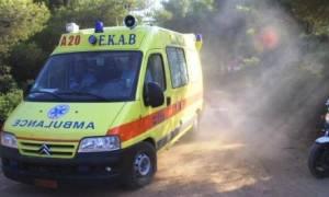 Σοβαρό τροχαίο στην Κρήτη: Άνδρας υπέστη ακρωτηριασμό μετά το ατύχημα