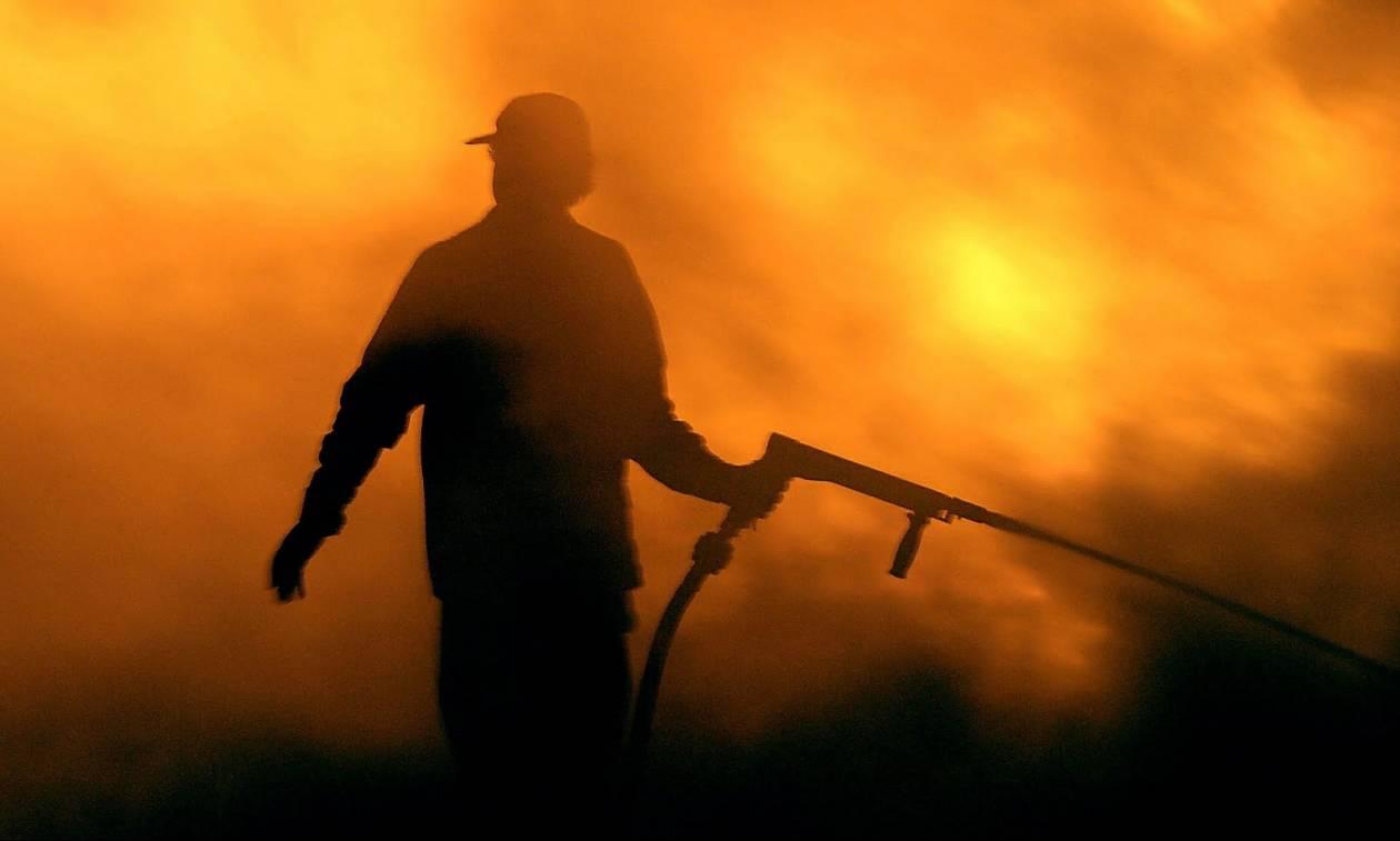 Φωτιά Τώρα: Ανεξέλεγκτη μαίνεται η πυρκαγιά στο όρος Βραχίωνα στη Ζάκυνθο