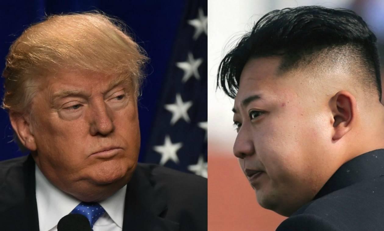 Τελεσίγραφο Τραμπ προς Κιμ Γιονγκ Ουν: Αν τολμήσεις να επιτεθείς θα το μετανιώσεις πικρά