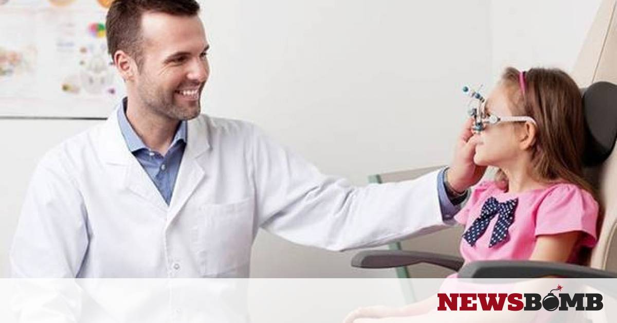 Πότε πρέπει να γίνει η πρώτη επίσκεψη του παιδιού στον οφθαλμίατρο;