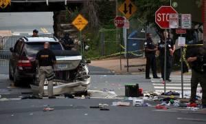 Νεκροί και δεκάδες τραυματίες σε βίαιες συμπλοκές στη Βιρτζίνια