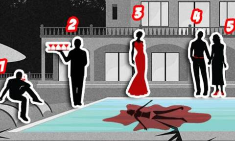Fun Quiz: Μπορείτε να βρείτε ποιος είναι ο δολοφόνος σε αυτή τη φωτογραφία;