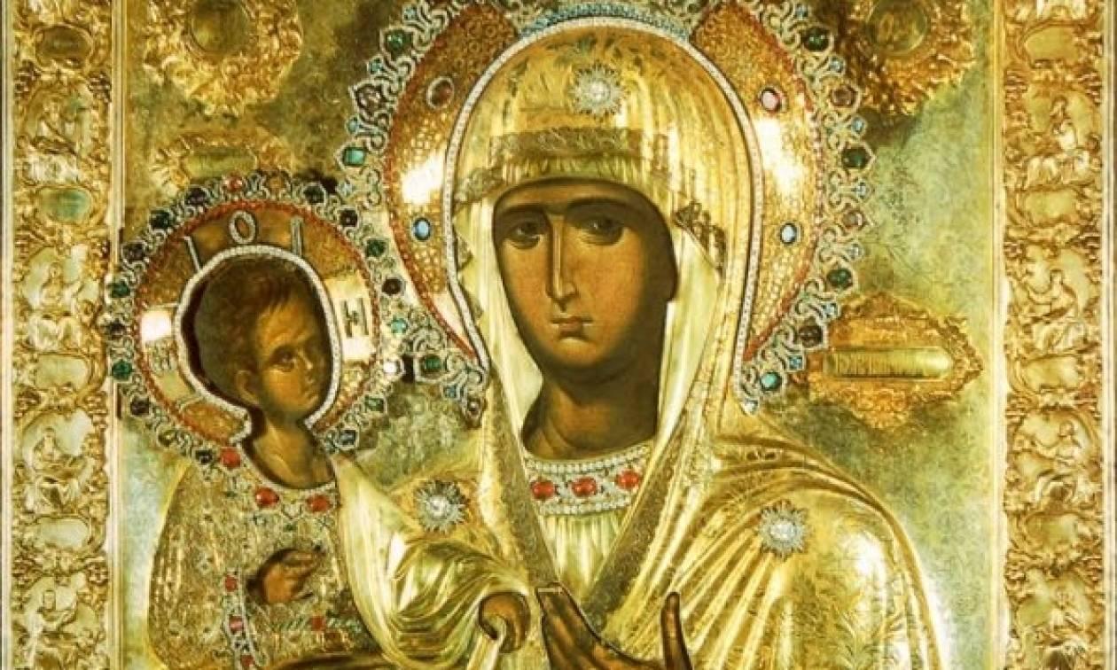 Θεσσαλονίκη: Σε λαϊκό προσκύνημα η εικόνα της Παναγίας Τριχερούσας στον Σταυρό (pic)