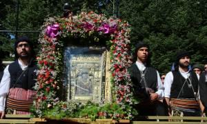 Δεκαπενταύγουστος 2017: Βέρμιο, Σιάτιστα και Άγιο Όρος τιμούν την «Πλατυτέρα των Ουρανών»