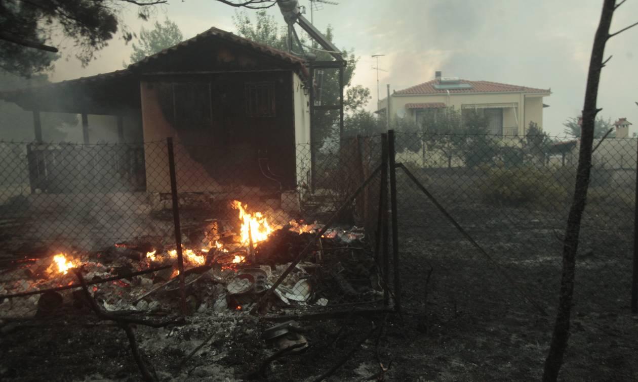 Φωτιά Κάλαμος - Προσοχή: Ποιοι δρόμοι έχουν κλείσει λόγω της πυρκαγιάς