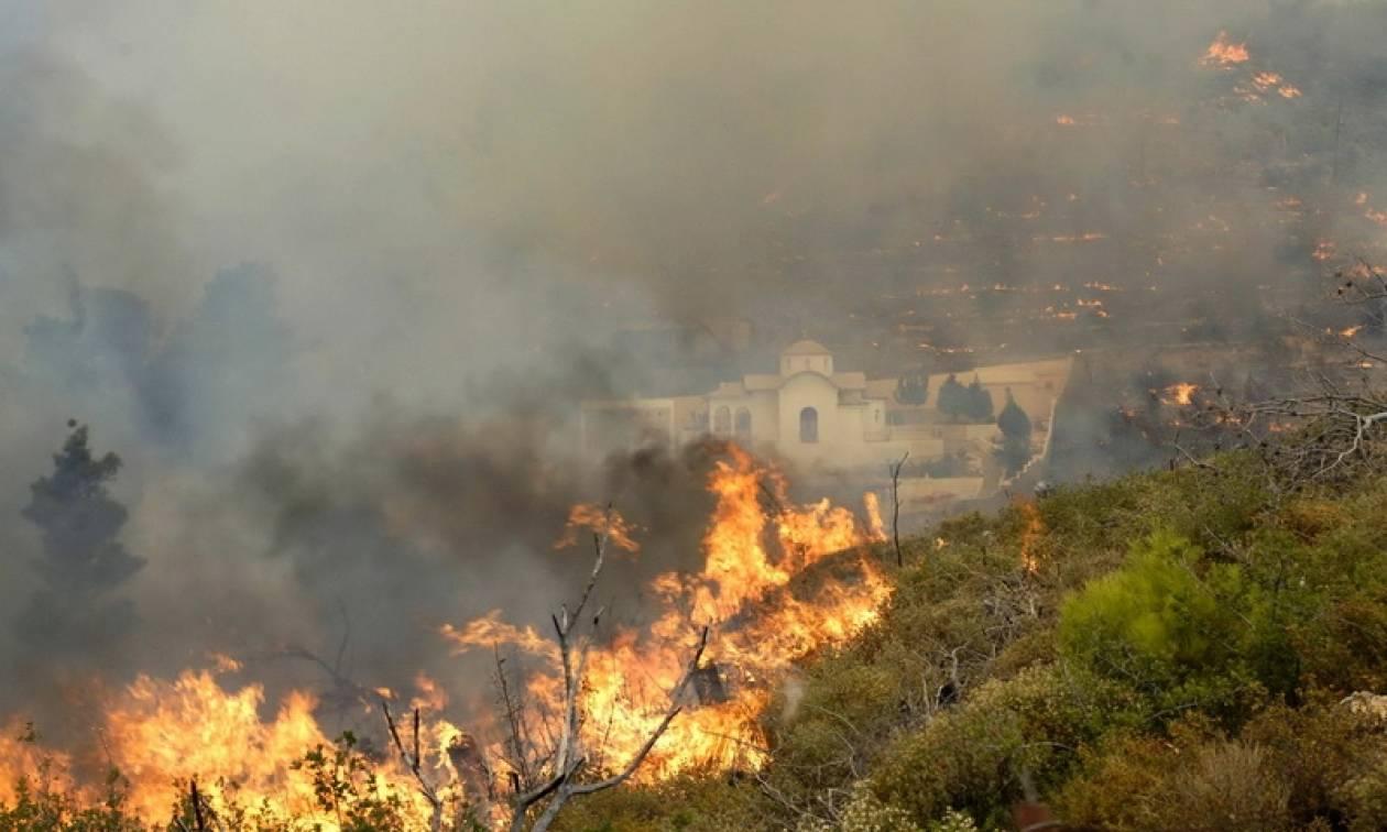 Ελλάδα στις φλόγες με ρεκόρ πυρκαγιών - 91 φωτιές μέσα σε 24 ώρες!